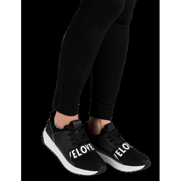 Buty sportowe damskie Ideal Shoes X 9703 Czarne