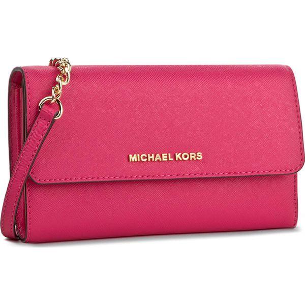 Rewelacyjny Różowe torebki wizytowe damskie marki Michael Kors - Kolekcja TY19