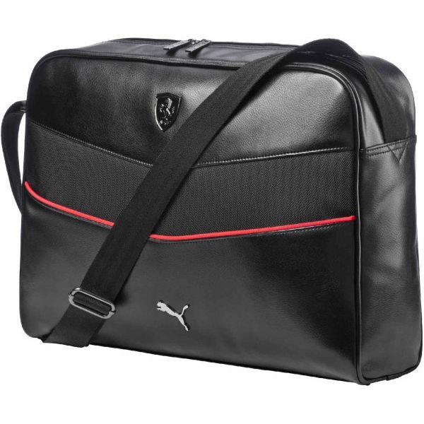 90fa5a256dc23 Puma Torba Ferrari Ls Reporter Black - Czarne torby na laptopa damskie  marki Puma, w paski, na ramię. W wyprzedaży za 279.00 zł. - Torby na  laptopa damskie ...