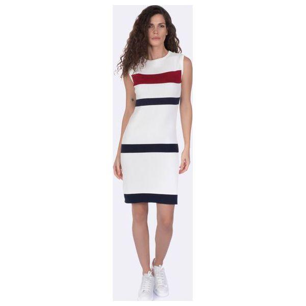 0fb327f7be Giorgio Di Mare Sukienka Damska M Biały - Białe sukienki damskie ...