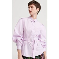 Fioletowe koszule damskie Reserved Kolekcja lato 2020  tqw5g