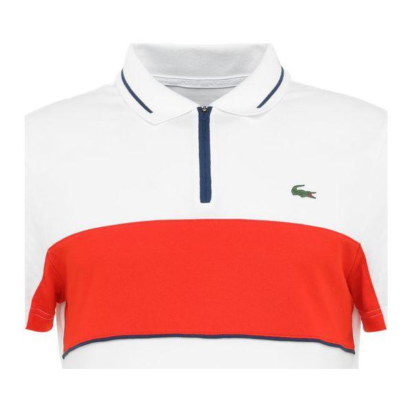 6cd8d2985 Lacoste Sport Koszulka polo white/pomegrenate/inkwell - Koszulki ...