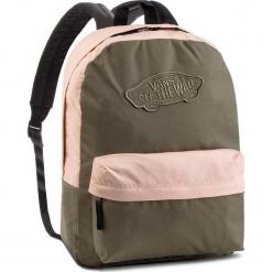 41f00f51e89a4 Plecak VANS - Realm Backpack VN0A3UI6UOT Dusty Olive Rose Cloud. Czerwone plecaki  damskie marki