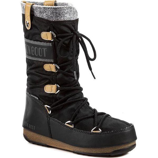 c5f23e3e Śniegowce MOON BOOT - Monaco Felt 24003200003 Nero/Black - Śniegowce  damskie Moon Boot. W wyprzedaży za 449.00 zł. - Śniegowce damskie - Obuwie  zimowe ...