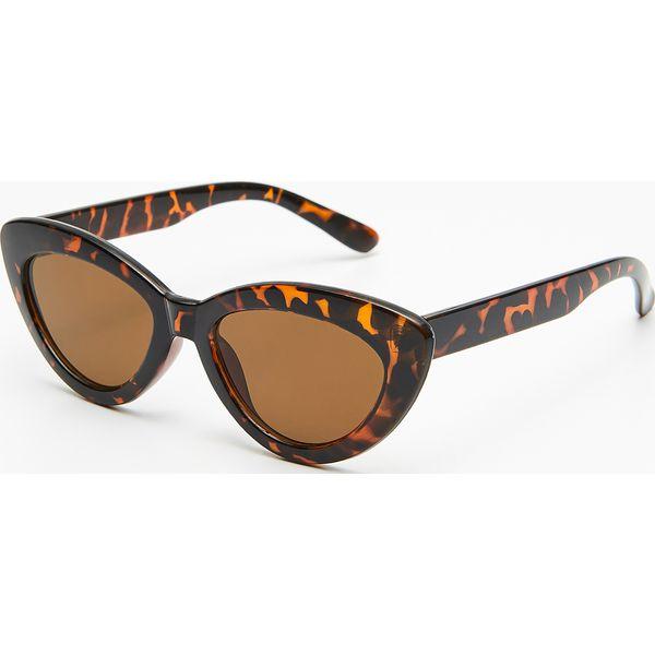 bb111a1f2ee60e Okulary przeciwsłoneczne - Beżowy - Okulary przeciwsłoneczne damskie ...