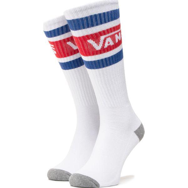 Skarpety Vans Stripe High Knee racing red white