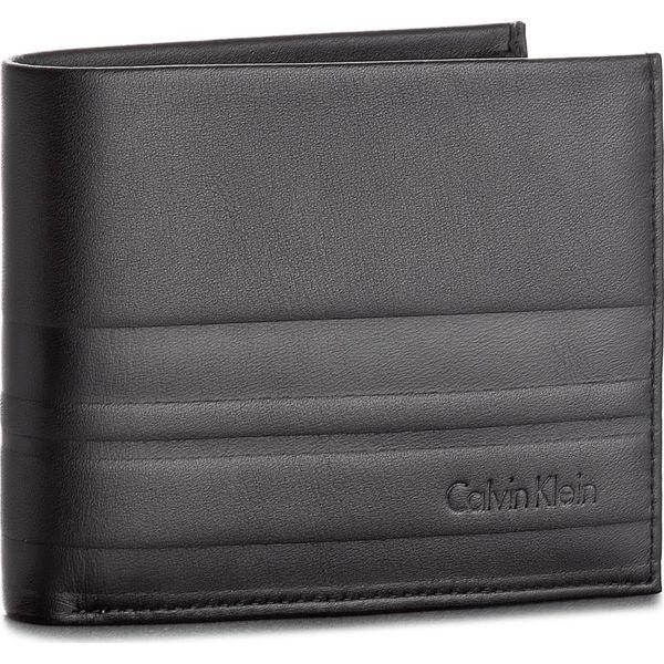 40c02f44846b6 Duży Portfel Męski CALVIN KLEIN BLACK LABEL - Stripe 5CC/Coin K50K503568 001  - Czarne portfele męskie marki Calvin Klein Black Label. Za 279.00 zł.