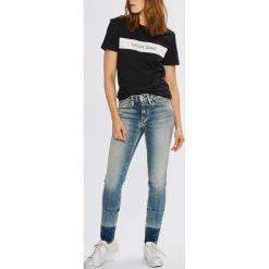 cd7351d849a77 Calvin Klein Jeans - Jeansy. Jeansy damskie marki Calvin Klein Jeans. W  wyprzedaży za ...