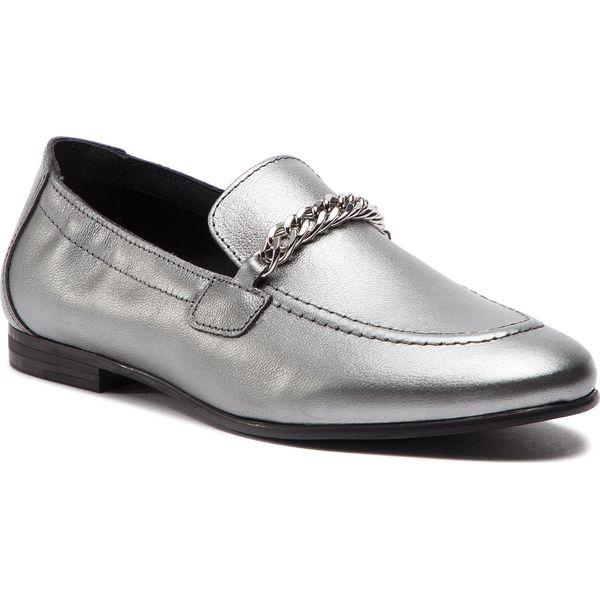 5833f040f1fa8 Lordsy TOMMY HILFIGER - Rubberized Chain Heeled Sandal FW0FW03891 Light  Silver 016 - Półbuty damskie marki Tommy Hilfiger. Za 599.00 zł.
