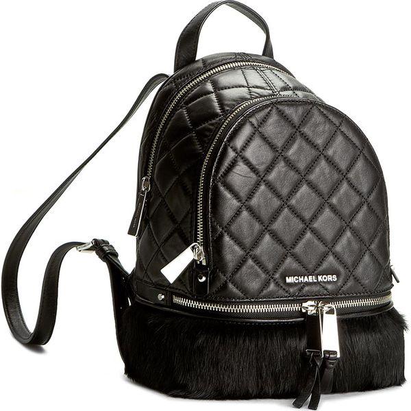 8806222c707ba Plecak MICHAEL KORS - Rhea Zip 30F6SEZB1U Black - Czarne plecaki ...