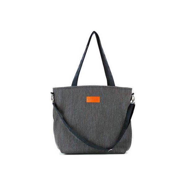 ddebe8a3612b7 Duża torba typu shopper Mili Duo Braid MDB1 - black - Czarne torebki ...