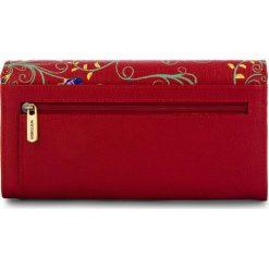 368a9a3e3415d Duży Portfel Damski WITTCHEN - 14-1S-087-3X Red. Czerwone portfele