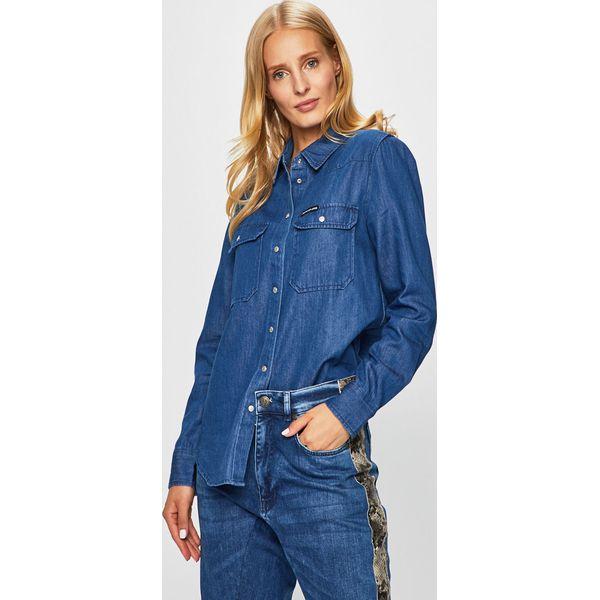 d57c628708ac5a Niebieskie koszule damskie - Kolekcja lato 2019 - Sklep Radio ZET