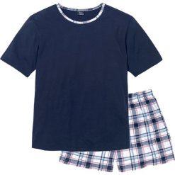 bc4e94b7878e55 bonprix. Piżamy męskie. 44.99 zł. Piżama z krótkimi spodenkami bonprix  ciemnoniebiesko-biały w paski.