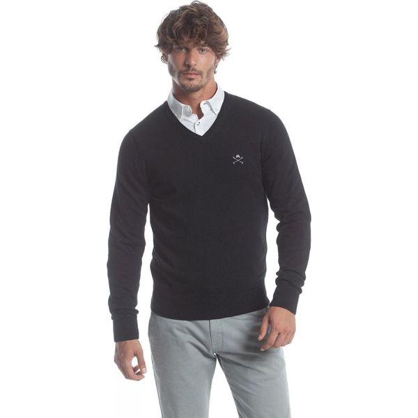 Polo Club C.H.A sweter męski M czarny