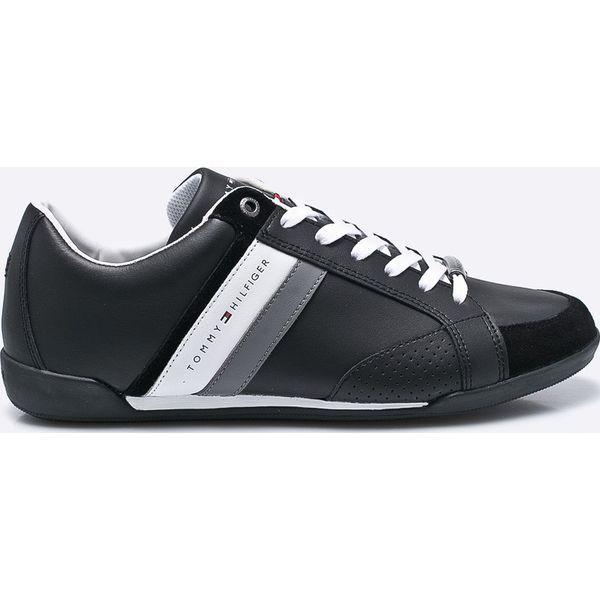 654014de7a18e Tommy Hilfiger - Buty - Czarne buty sportowe męskie marki Tommy ...