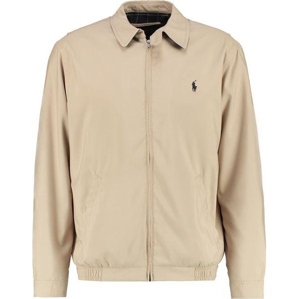 118f7d6a33fdf Polo Ralph Lauren Kurtka wiosenna khaki uniform - Brązowe kurtki męskie  marki Polo Ralph Lauren, m, z materiału. W wyprzedaży za 665.10 zł.