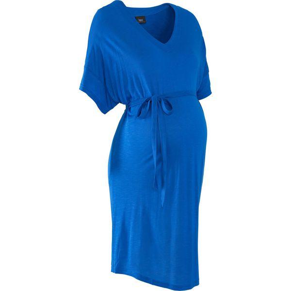 78ed504aec494e Tunika shirtowa ciążowa bonprix lazurowy - Stroje kąpielowe damskie ...
