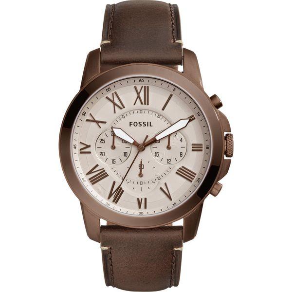adf7b367dd1f48 Fossil GRANT Zegarek chronograficzny braun - Brązowe zegarki męskie ...