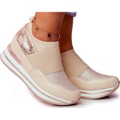 Jezzi Wygodne buty sportowe na koturnie 20PB08 1641