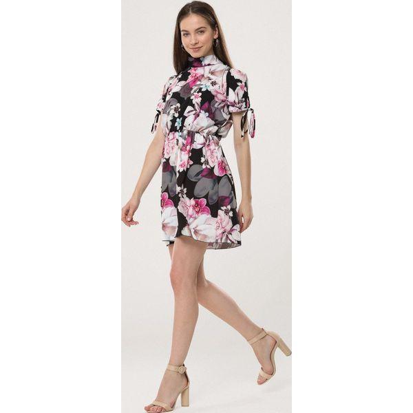 4253e2722d Czarna Sukienka Handcraft - Sukienki damskie marki Born2be. Za 49.99 ...