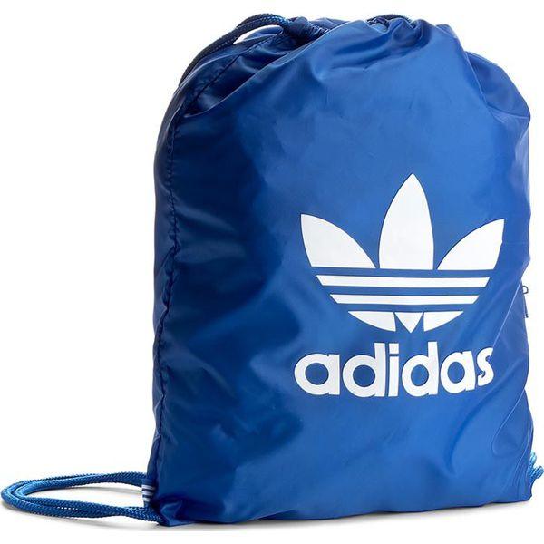 9778315b72d11 Plecak adidas - Gymsack Trefoil BJ8358 Blue - Plecaki damskie marki Adidas.  Za 54.95 zł. - Plecaki damskie - Torby i plecaki damskie - Akcesoria damskie  ...