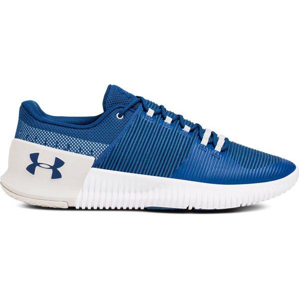 ac15d5dabbc05 Under Armour Buty męskie Ultimate Speed niebiesko-białe r. 42 (3000329-400)  - Białe buty sportowe męskie marki Under Armour, Nike Roshe. Za 312.66 zł.