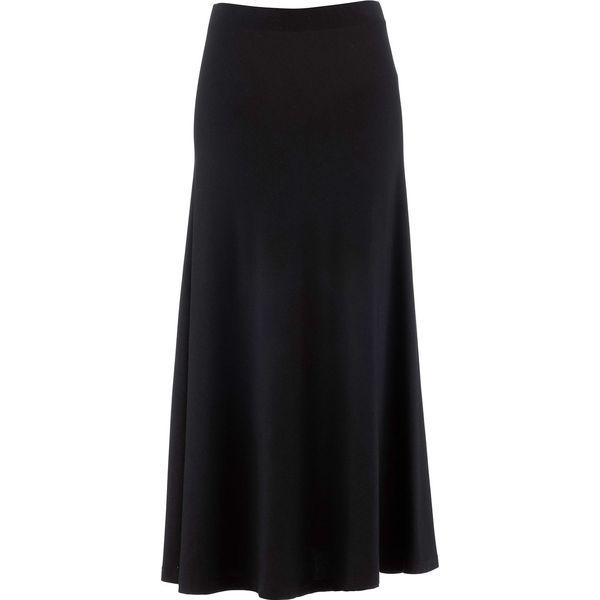 b42f4f47 Spódnica shirtowa bonprix czarny