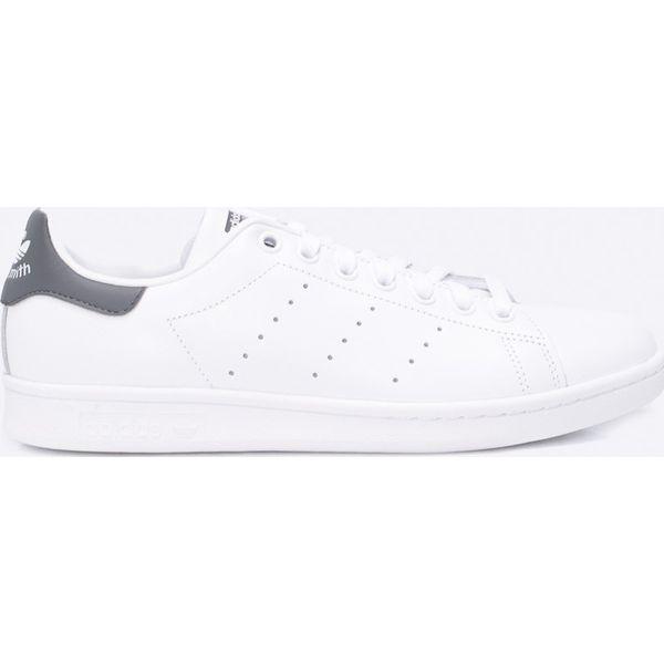 Białe buty sportowe męskie adidas Originals, na sznurówki