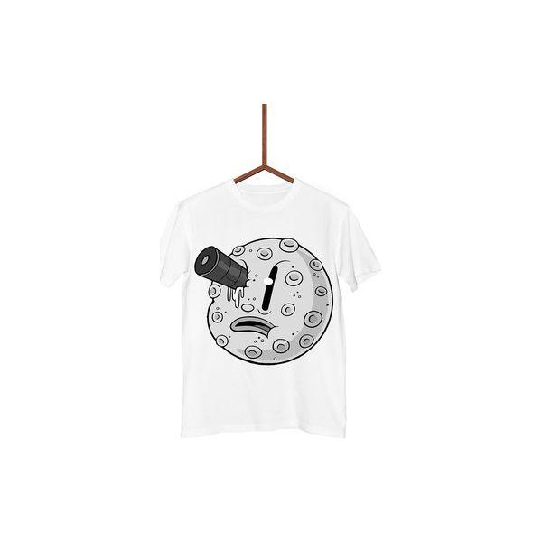 Koszulka Kit Van Gogh Or Vincent Van Cat Męska Biały I