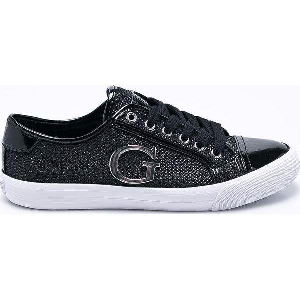 924687432bce6 Guess Jeans - Tenisówki - Czarne trampki i tenisówki damskie marki ...