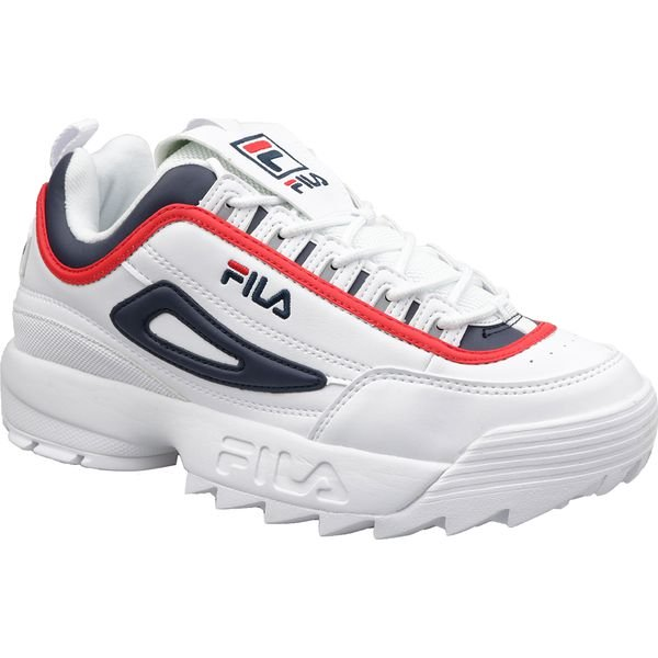 Fila Disruptor CB Low 1010575 01M buty sneakers, buty sportowe męskie białe 42