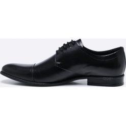 6b81f62b Wojas - Półbuty - Szare buty wizytowe męskie Wojas, z materiału, na ...