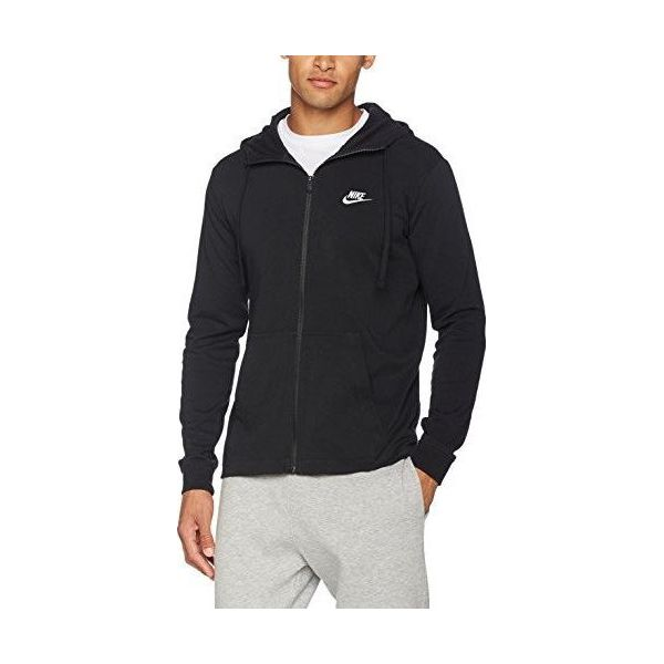 8de8e9cd Nike Bluza męska M NSW Hoodie FZ JSY Club czarna r. L (861754-010)