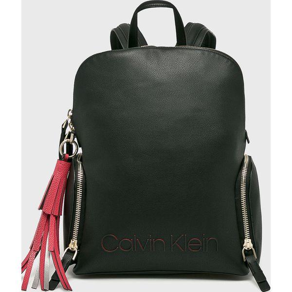 77ada09192770 Calvin Klein - Plecak - Czarne plecaki damskie marki Calvin Klein, z  materiału. Za 649.90 zł. - Plecaki damskie - Torby i plecaki damskie -  Akcesoria ...
