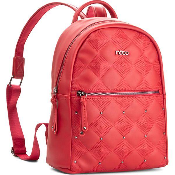 11b48e5bc45c8 Plecak NOBO - NBAG-E0970-C005 Czerwony - Czerwone plecaki damskie marki  NOBO. W wyprzedaży za 139.00 zł. - Plecaki damskie - Torby i plecaki damskie  ...