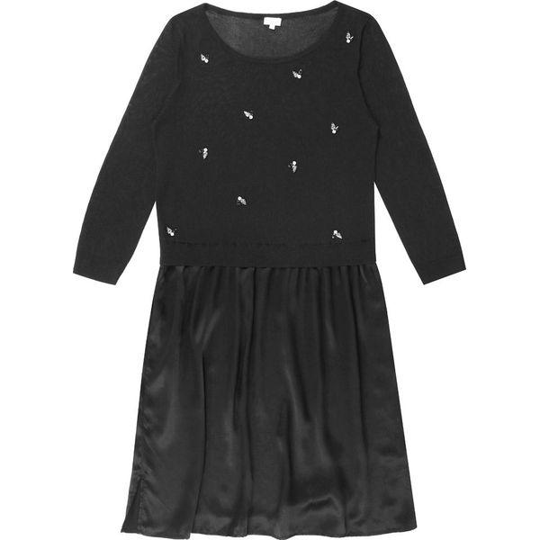 e40d63e385 Sukienka jedwabna w kolorze czarnym - Sukienki damskie marki ...
