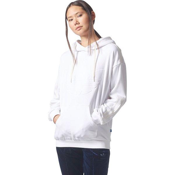 7062fe5a Adidas Bluza damska Flock Hoodie biała r. 42 (BQ8019)