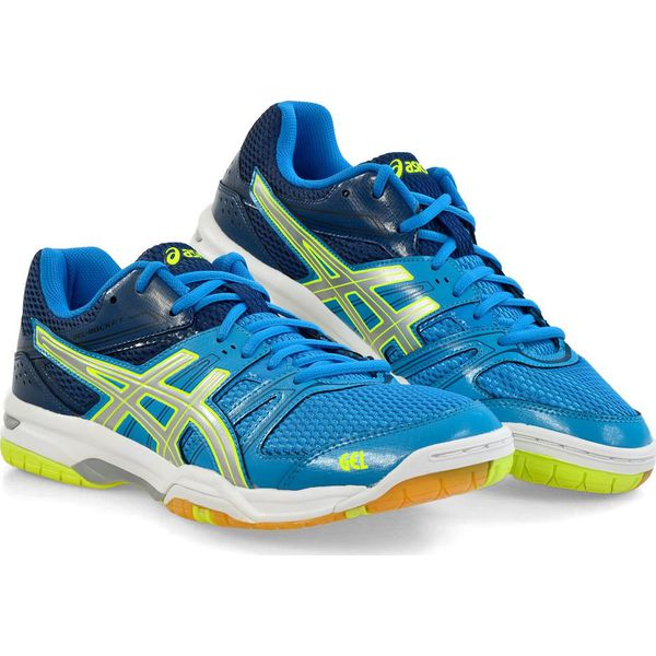 e9a9a211fd74 Asics Buty Męskie Gel-Rocket 7 Blue Jewel Glacier Grey Safety Yellow ...