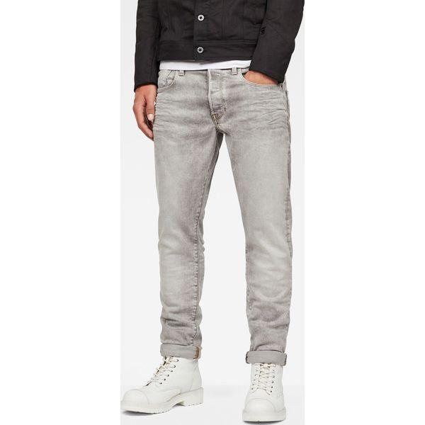 32d9d344a240 G-Star Raw - Jeansy 3301 - Szare jeansy męskie marki G-Star Raw
