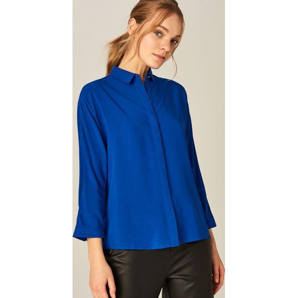 2dcaeacce7724d Koszula oversize - Niebieski - Koszule damskie marki Mohito. W ...