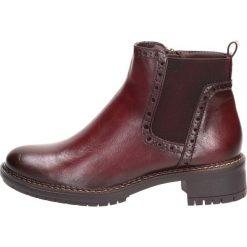 Czerwone buty Filippo Kolekcja zima 2020 Sklep Radio ZET