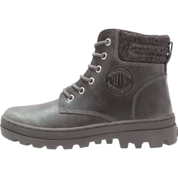 61408cab44927 Palladium Ankle boot french metal/forged iron - Szare botki damskie ...