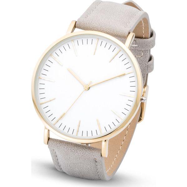 Tylko na zewnątrz Zegarek klasyczny bonprix szary - Zegarki damskie marki bonprix BN74