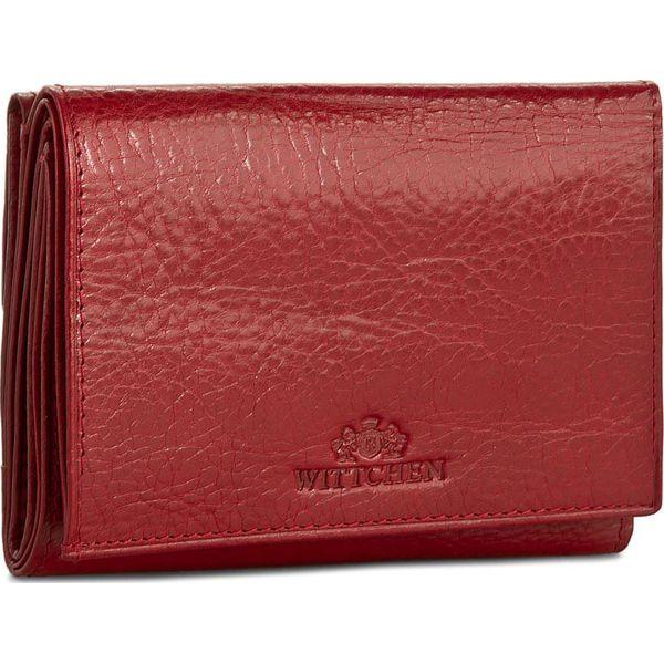 9b51c9db22f82 Mały Portfel Damski WITTCHEN - 21-1-071-3 Czerwony - Czerwone ...