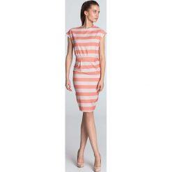 d2820c880b Brązowe sukienki damskie z krótkim rękawem - Kolekcja wiosna 2019 ...