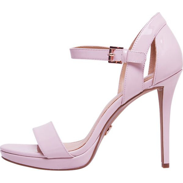 b87035d284b8 MICHAEL Michael Kors TAMRA PLATFORM Sandały na obcasie soft pink ...