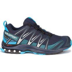 Niebieskie buty męskie Salomon, kolekcja wiosna 2020
