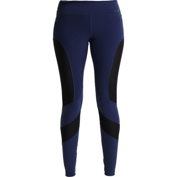 stabilna jakość szeroki zasięg przed Sprzedaż Nike Performance WINDOW PANE Legginsy binary blue/black/black