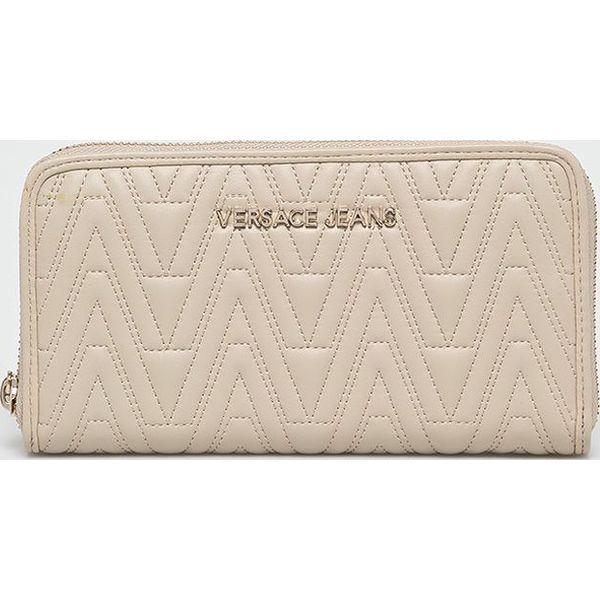 fa0f1c7bfa798 Versace Jeans - Portfel - Szare portfele damskie Versace Jeans, z ...